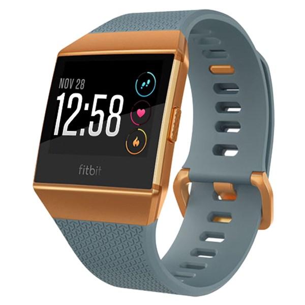 Đồng hồ thông minh Fitbit Ionic Cam Xanh