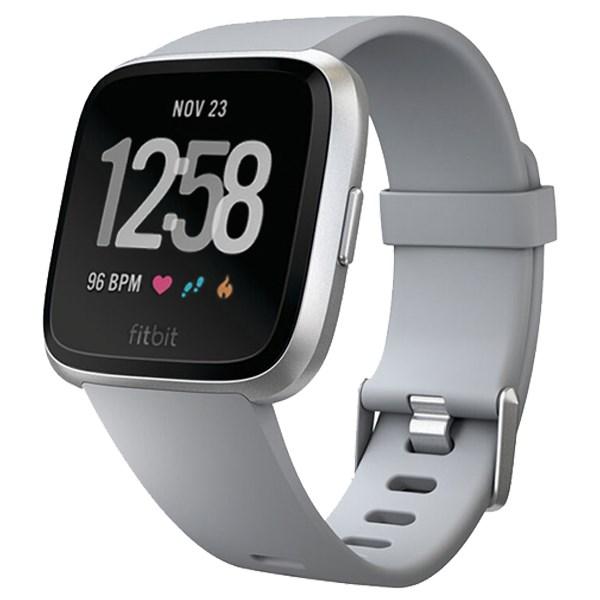 Fitbit Versa Xám bạc
