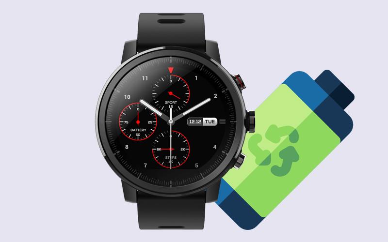 Đồng hồ thông minh Xiaomi Amazfit Stratos 2 - Thời gian sử dụng