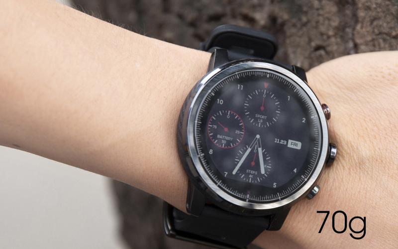 Đồng hồ thông minh Xiaomi Amazfit Stratos 2 - Trọng lượng