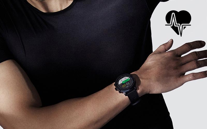 Đồng hồ thông minh Xiaomi Amazfit Stratos 2 - Theo dõi sức khỏe