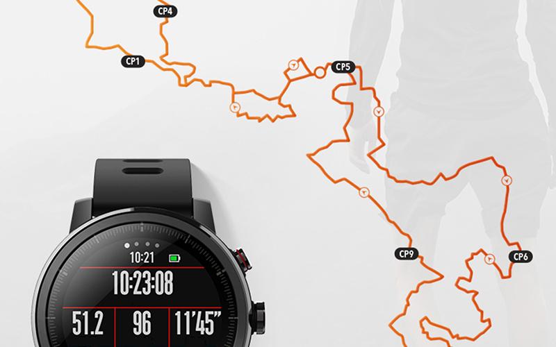 Đồng hồ thông minh Xiaomi Amazfit Stratos 2 - Tính năng GPS