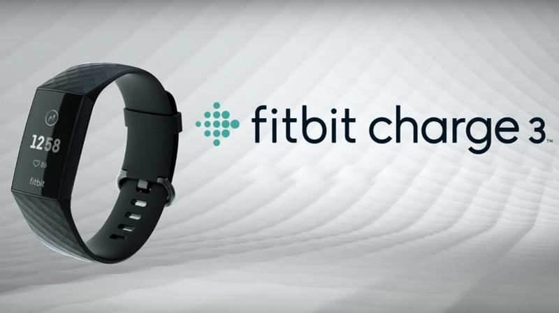 Vòng đeo thông minh Fitbit Charge 3 Đen - Thiết kế mới, mỏng nhẹ hơn