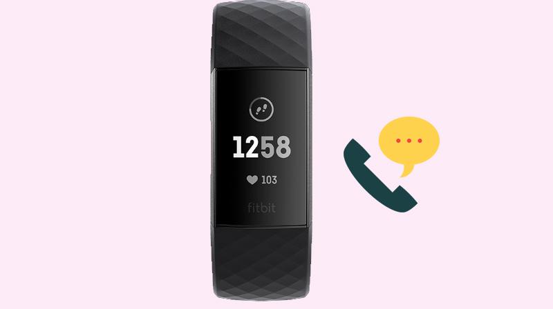 Vòng đeo thông minh Fitbit Charge 3 Đen - Hiển thị cuộc gọi, tin nhắn ngay trên mặt
