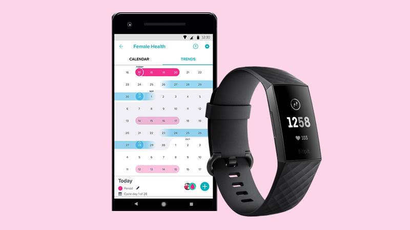 Vòng đeo thông minh Fitbit Charge 3 Đen - Chăm sóc sức khỏe