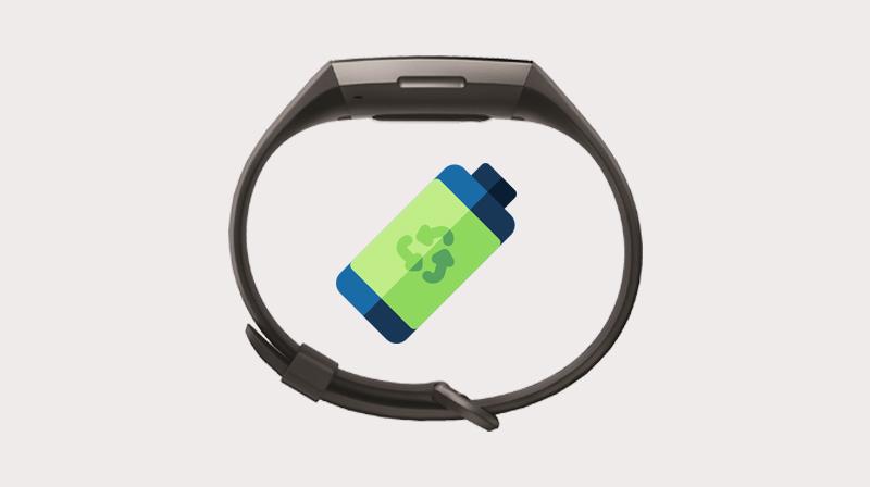 Vòng đeo thông minh Fitbit Charge 3 Đen - Thời gian sử dụng lên đến 7 ngày