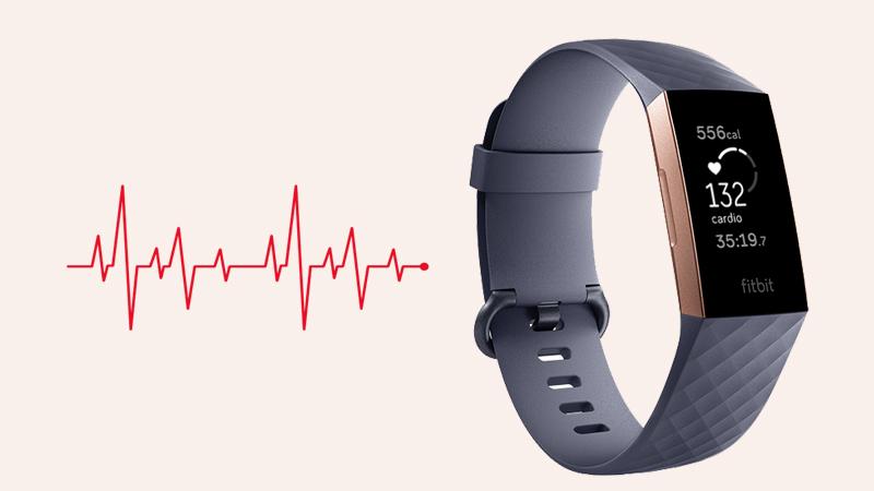Vòng tay thông minh Fitbit Charge 3 Xanh Dương - Cảm biến SpO2