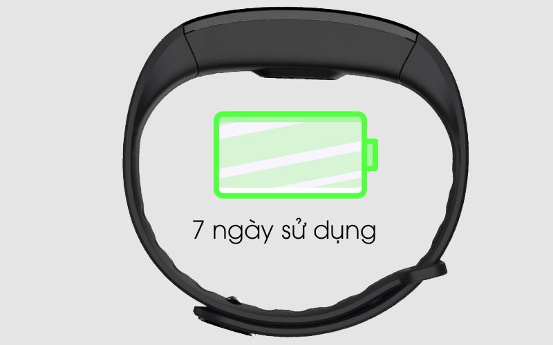 Thời gian sử dụng pin trên Vòng tay thông minh Zeblaze Plug C