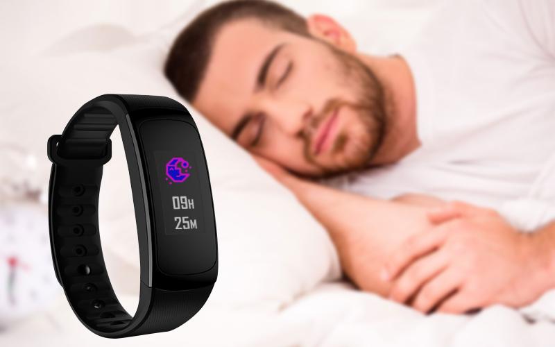 Theo dõi giấc ngủ trên Vòng tay thông minh Zeblaze Plug C
