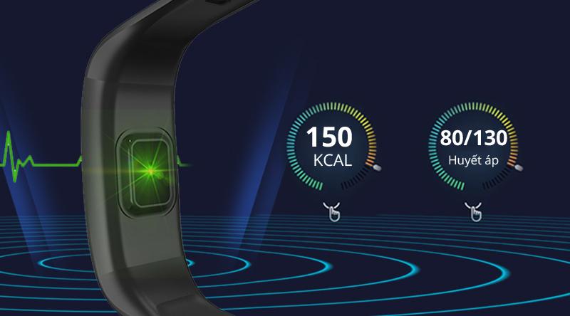 Vòng tay thông minh Sinophy Sport B12 đo nhịp tim theo dõi sức khỏe