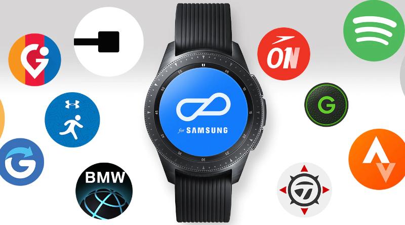 Kho ứng dụng đa dạng trên Đồng hồ thông minh Samsung Galaxy Watch 42mm