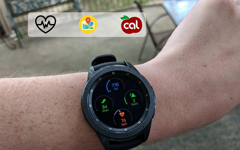 Các tính năng thông minh trên Đồng hồ thông minh Samsung Galaxy Watch 42mm