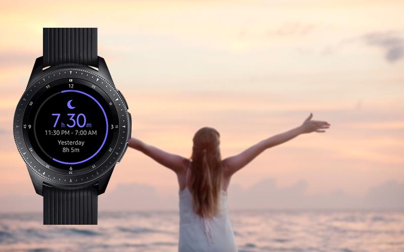Tính năng theo dõi căng thẳng trên trên Đồng hồ thông minh Samsung Galaxy Watch 42mm