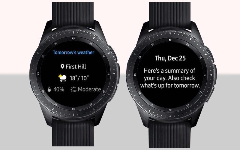 Màn hình luôn hiển thị trên Đồng hồ thông minh Samsung Galaxy Watch 42mm