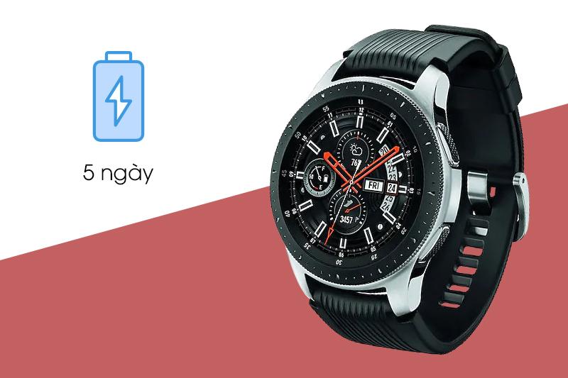 Dung lượng pin của Đồng hồ thông minh Samsung Galaxy watch 46mm
