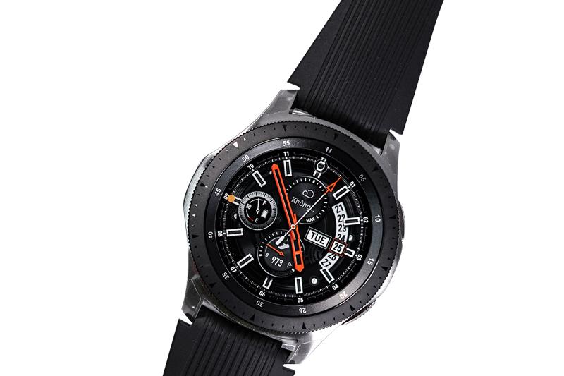 Chất liệu của Đồng hồ thông minh Samsung Galaxy watch 46mm