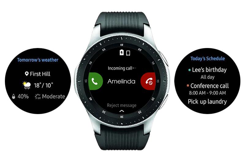 Kết nối của Đồng hồ thông minh Samsung Galaxy watch 46mm