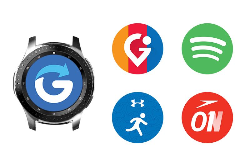 Các ứng dụng của Đồng hồ thông minh Samsung Galaxy watch 46mm