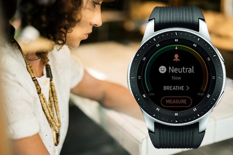 Tính năng theo dõi sress trên Đồng hồ thông minh Samsung Galaxy watch 46mm