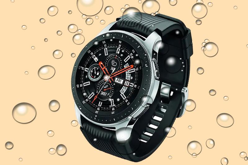 Khả năng chống nước của Đồng hồ thông minh Samsung Galaxy watch 46mm
