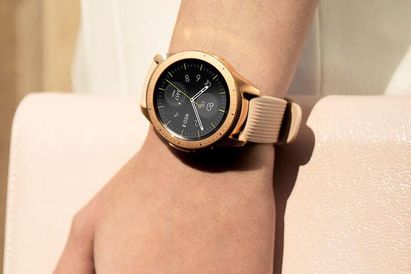 Samsung Galaxy Watch 42mm Rose Gold tạo nên phong cách riêng