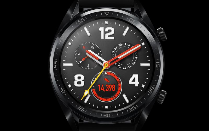 Huawei Watch GT với mặt đồng hồ mỏng 10.6mm