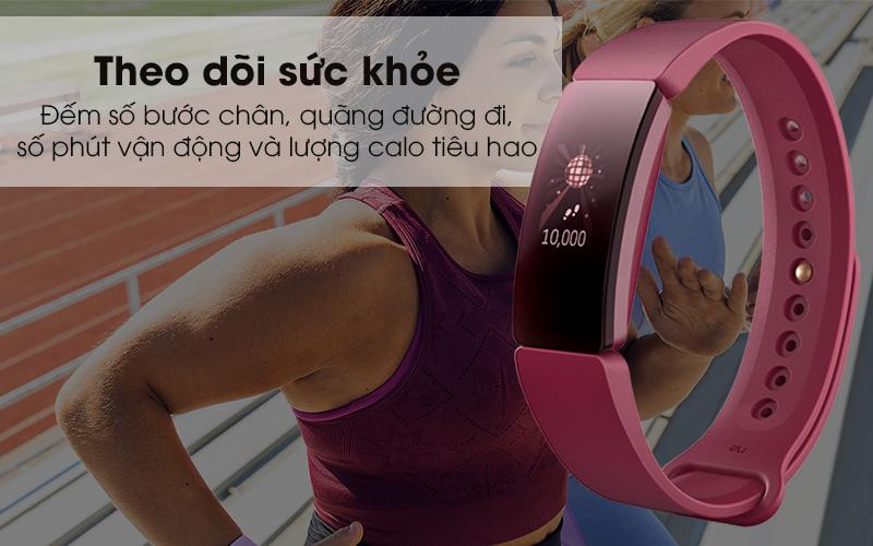 Vòng đeo thông minh Fitbit Inspire theo dõi sức khỏe