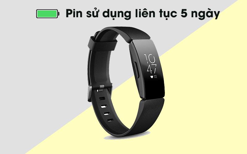 Vòng đeo thông minh Fitbit Inspire pin