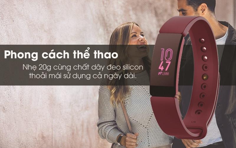Vòng đeo thông minh Fitbit Inspire phong cách