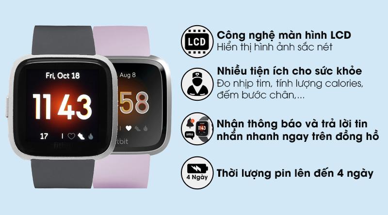 Đồng hồ thông minh Fitbit Versa Lite
