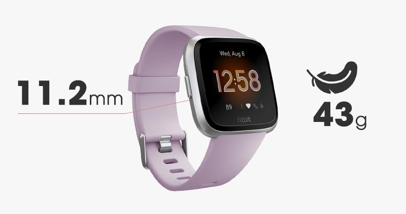 Thiết kế Vòng tay thông minh Fitbit Versa Lite