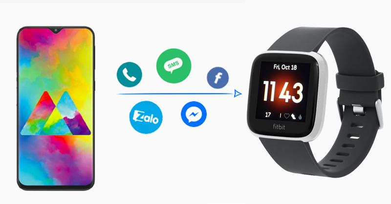 Fitbit Versa Lite cập nhật liên tục từ smartphone