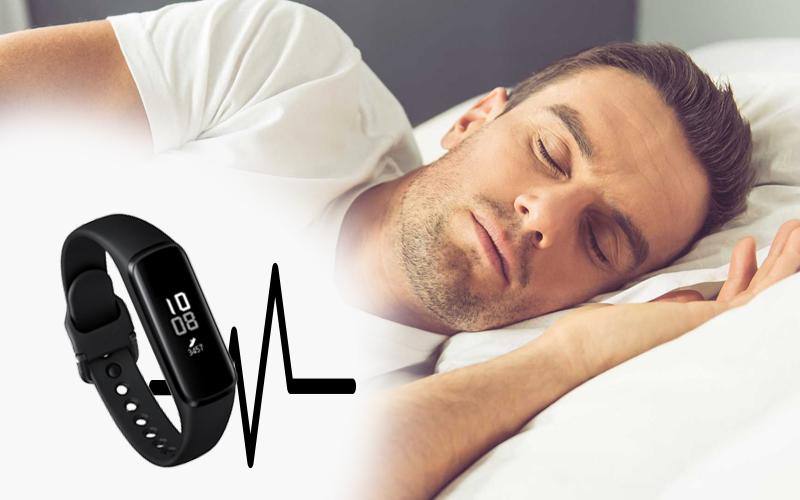 Samsung Galaxy Fit E  theo dõi giấc ngủ và đo nhịp tim