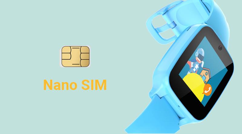 Đồng hồ thông minh Masstel Super Hero Xanh Dương sử dụng Nano SIM