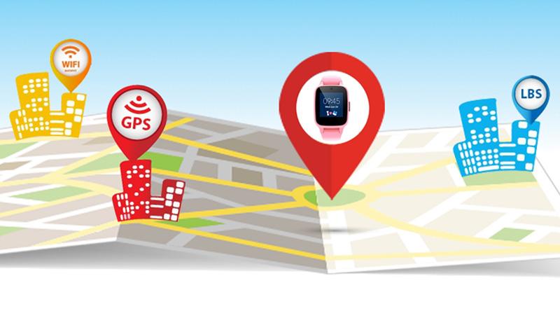 Đồng hồ thông minh Masstel Super Hero Xanh Dương sử dụng công nghệ định vị thông minh