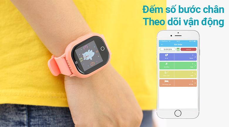 Đồng hồ thông minh trẻ em Kidcare 06S theo dõi vận động