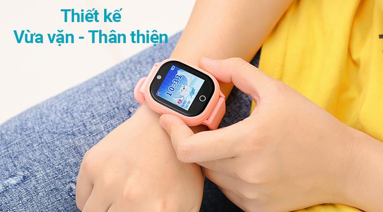 Đồng hồ thông minh trẻ em Kidcare 06S thiết vừa vặn, thân thiện