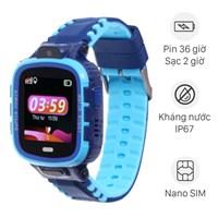 Đồng hồ định vị trẻ em Kidcare 26 xanh