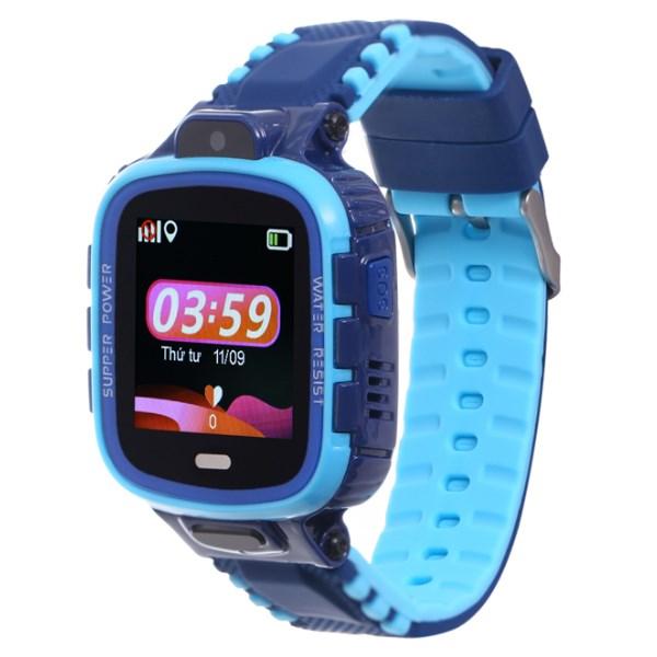 Đồng hồ thông minh trẻ em Kidcare 26 xanh dương
