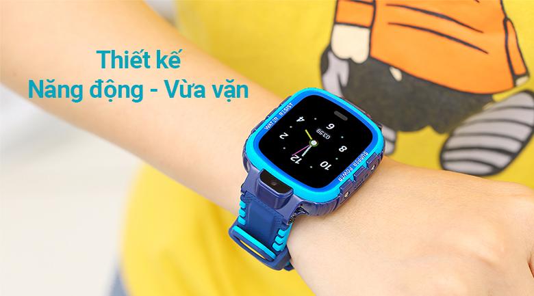 Đồng hồ định vị trẻ em Kidcare 26 thiết kế năng động, vừa vặn