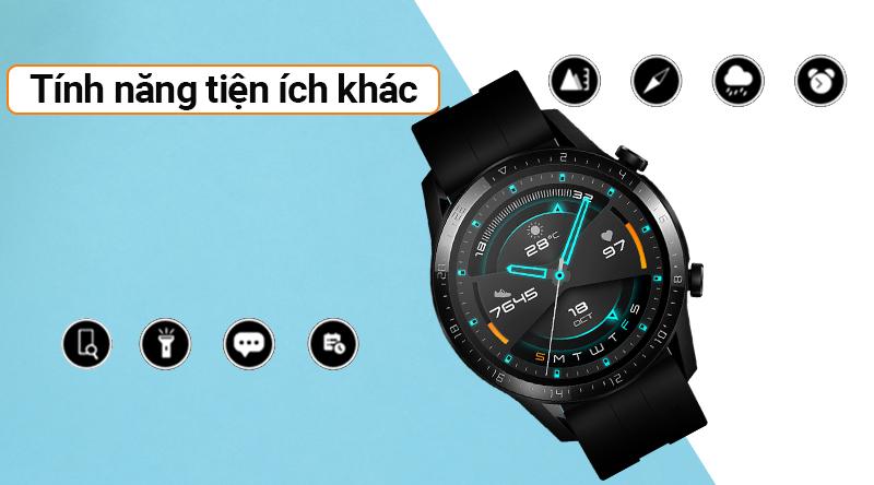 Đồng hồ thông minh Huawei Watch GT2 với nhiều tính năng khác
