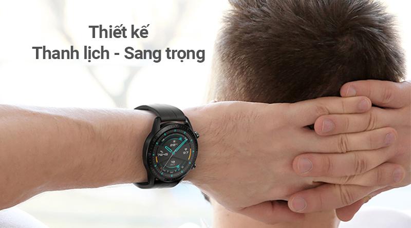Đồng hồ thông minh Huawei Watch GT2 với thiết kế thanh lịch