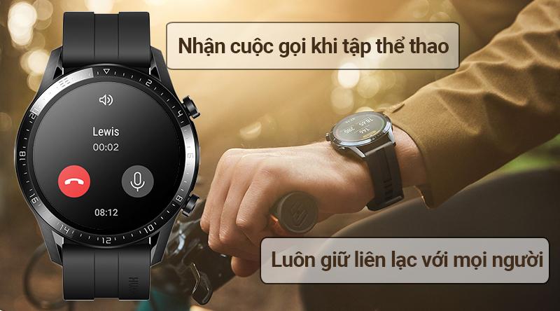 Đồng hồ thông minh Huawei Watch GT2 nhận cuộc gọi trực tiếp