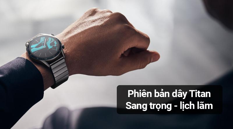 Smartwatch Huawei Watch GT 2 dây kim loại - Thiết kế