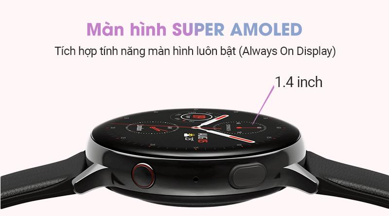 Công nghệ màn hình SUPER AMOLED | Samsung Galaxy Watch Active