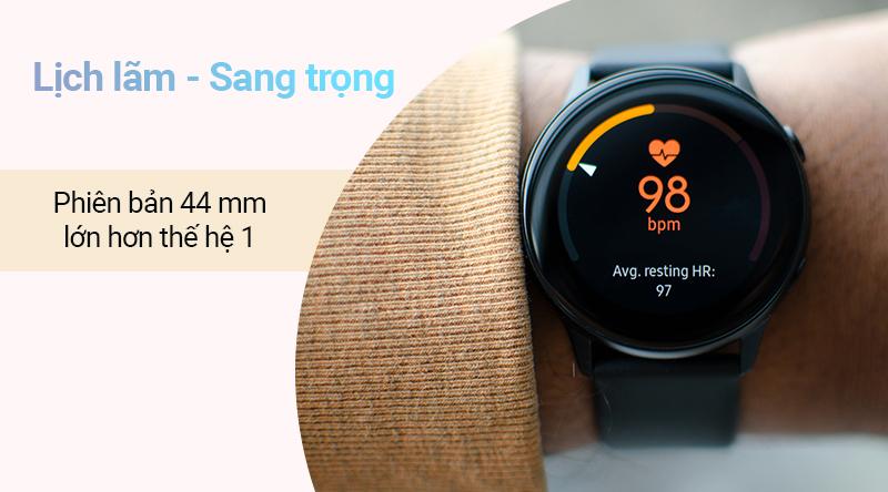 Thiết kế đồng hồ thông minh Samsung Galaxy Watch Active 2