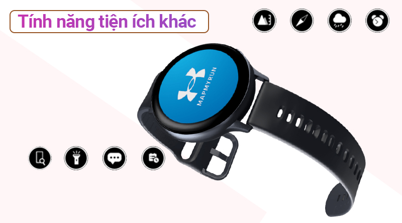 Đồng hồ thông minh Samsung Galaxy Watch Active 2 với các tính năng tiện ích khác