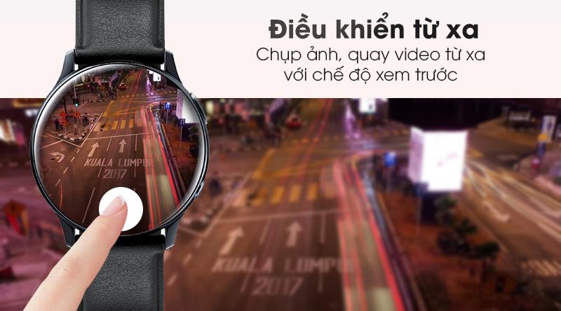 Đồng hồ thông minh Samsung Galaxy Watch Active 2 điều khiển từ xa