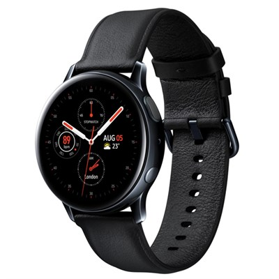Samsung Galaxy Watch Active 2 44mm viền thép dây da