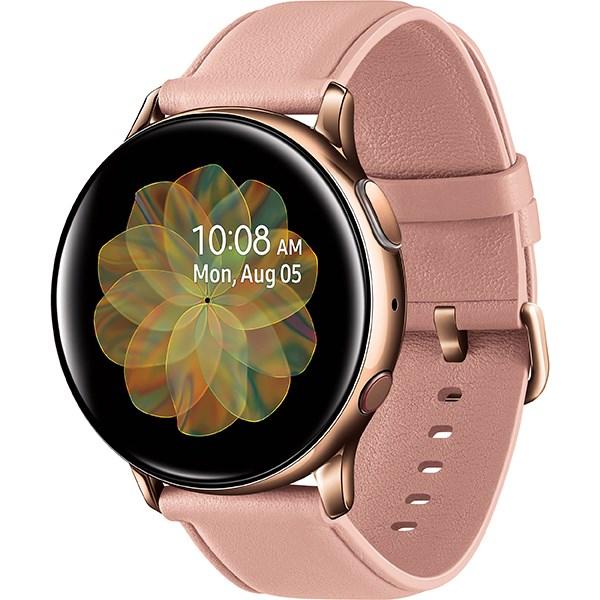 Samsung Galaxy Watch Active 2 40mm viền thép dây da